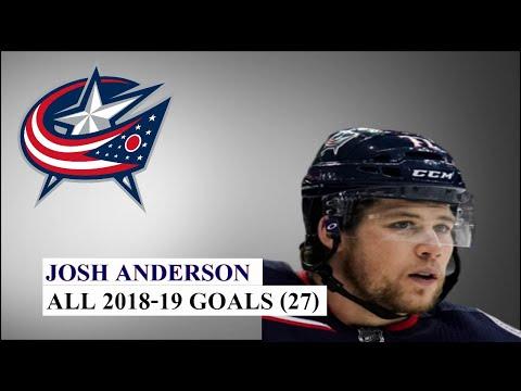 Josh Anderson (#77) All 27 Goals of the 2018-19 NHL Season