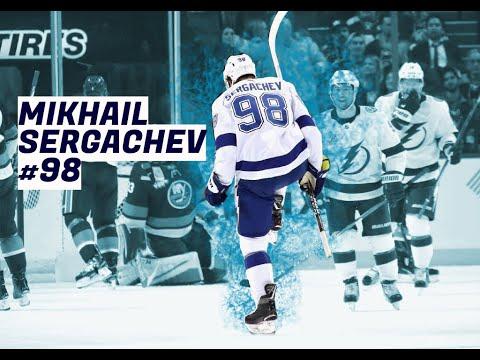 Mikhail Sergachev highlights (Tampa Bay Lightning #98) | Star in the making