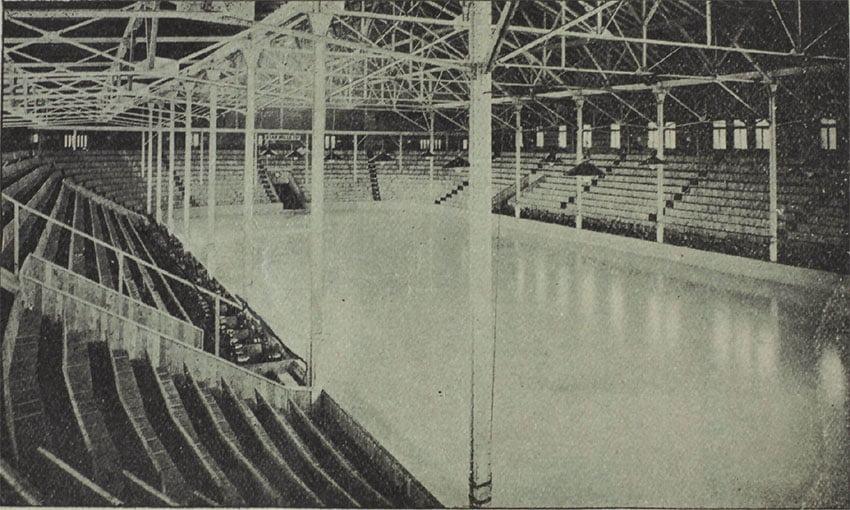 Aréna Westmount en 1899
