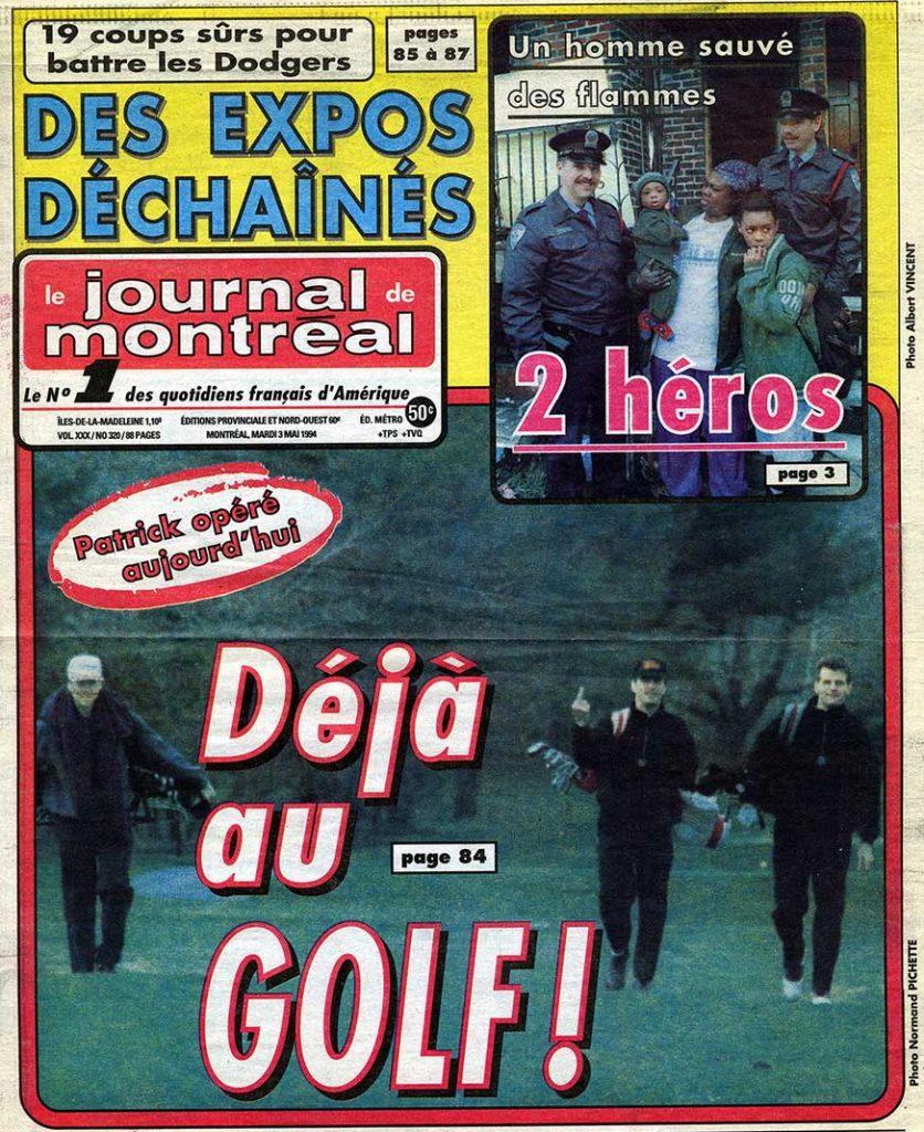 journal de Montréal - 3 Mai 1994