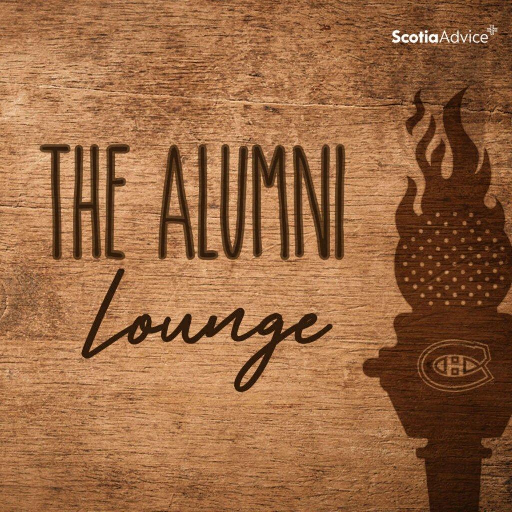 the alumni lounge