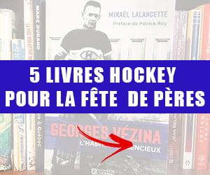 Livres hockey à offrir